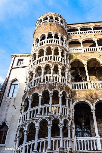 Palace Contarini dil Bovolo, Venice, Italy, Europe