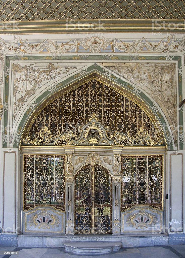 Palace door 1 royalty-free stock photo