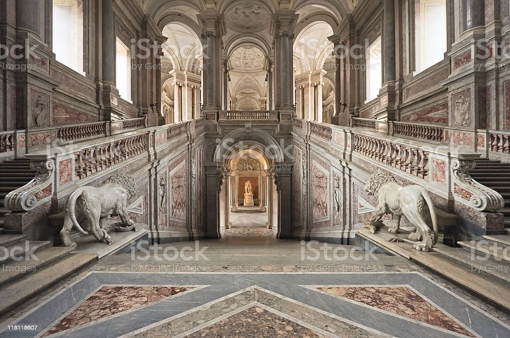 Palace entrance staircase