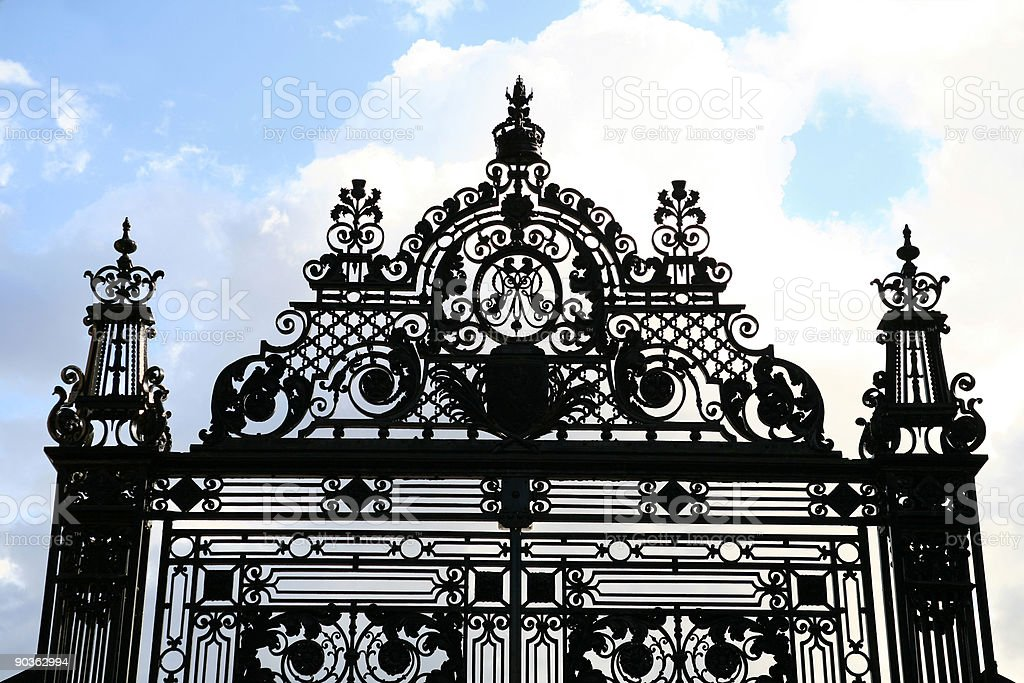 Palace Gates stock photo