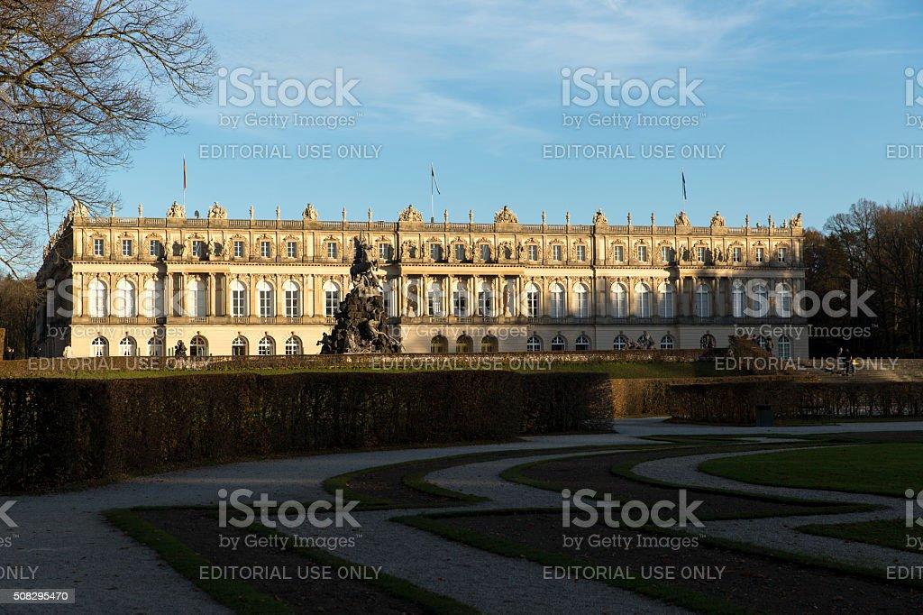 Palace Herrenchiemsee, Bavaria stock photo