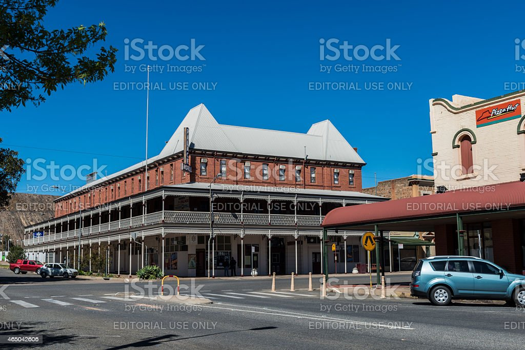 Palace Hotel, Broken Hill, NSW, Australia stock photo