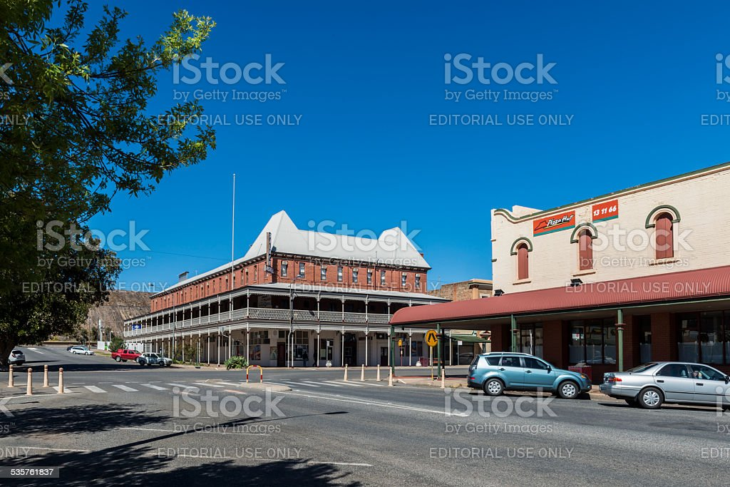 Palace Hotel, Broken Hill, Outback New South Wales, Australia stock photo