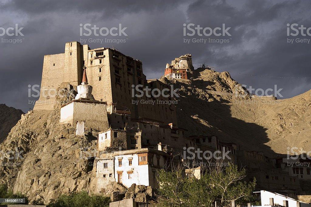 Palace in Leh stock photo