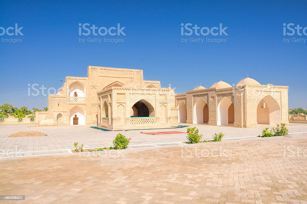 Palace in Merv stock photo