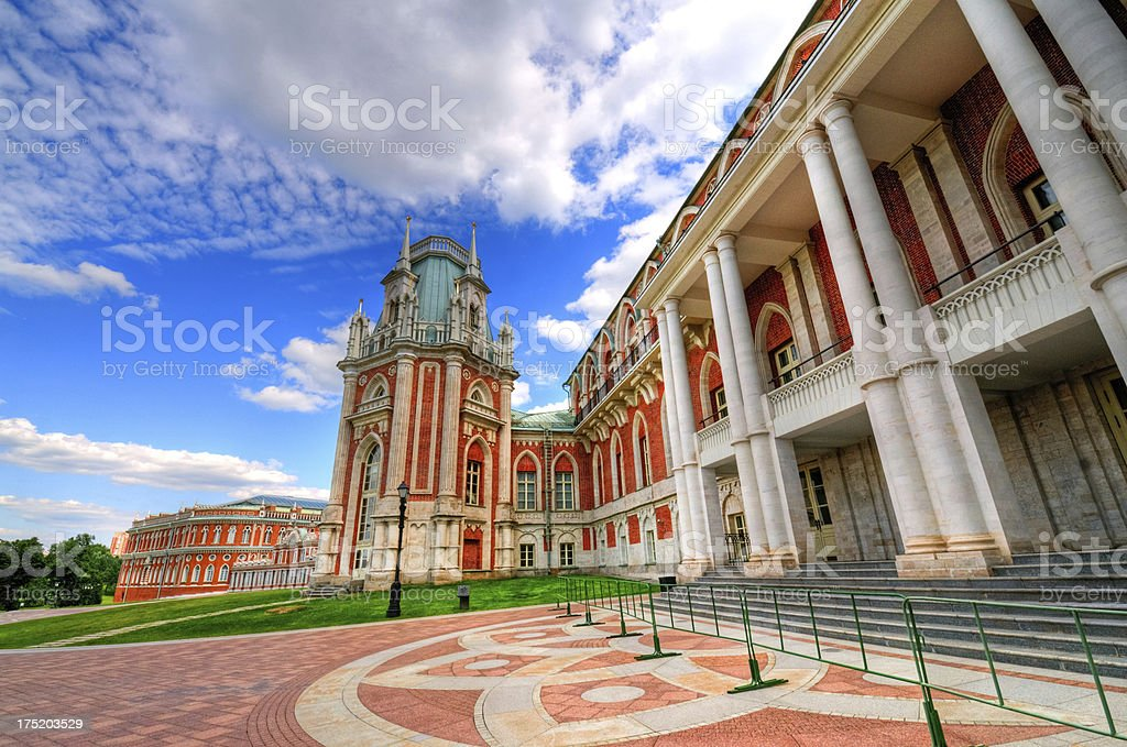 Palace in Moscow, Russia stock photo