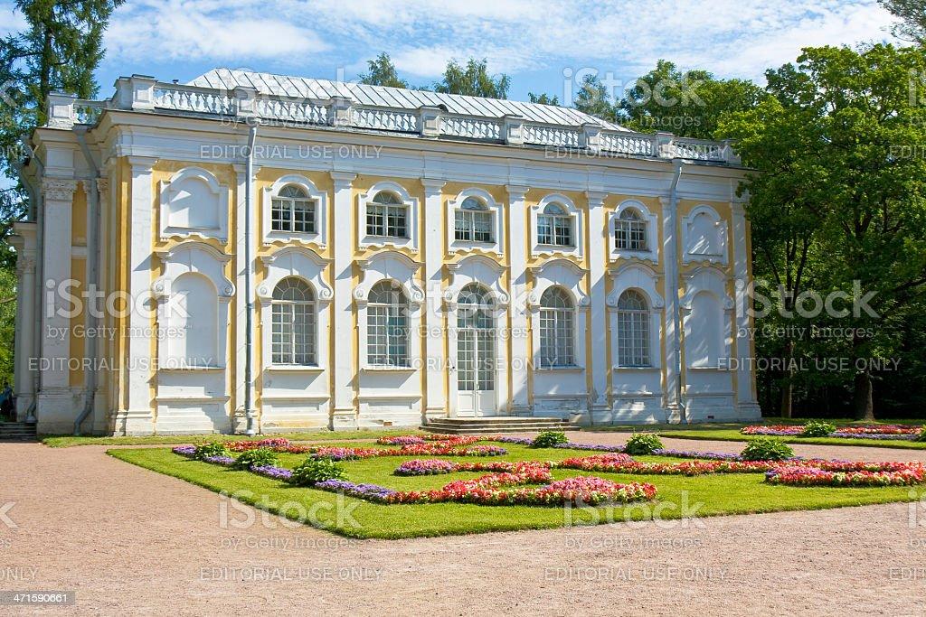 Palace in Oranienbaum, Russia royalty-free stock photo