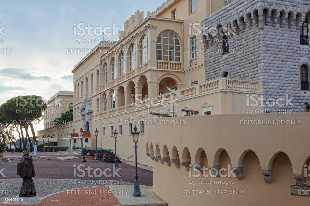 Palace - Monaco City stock photo