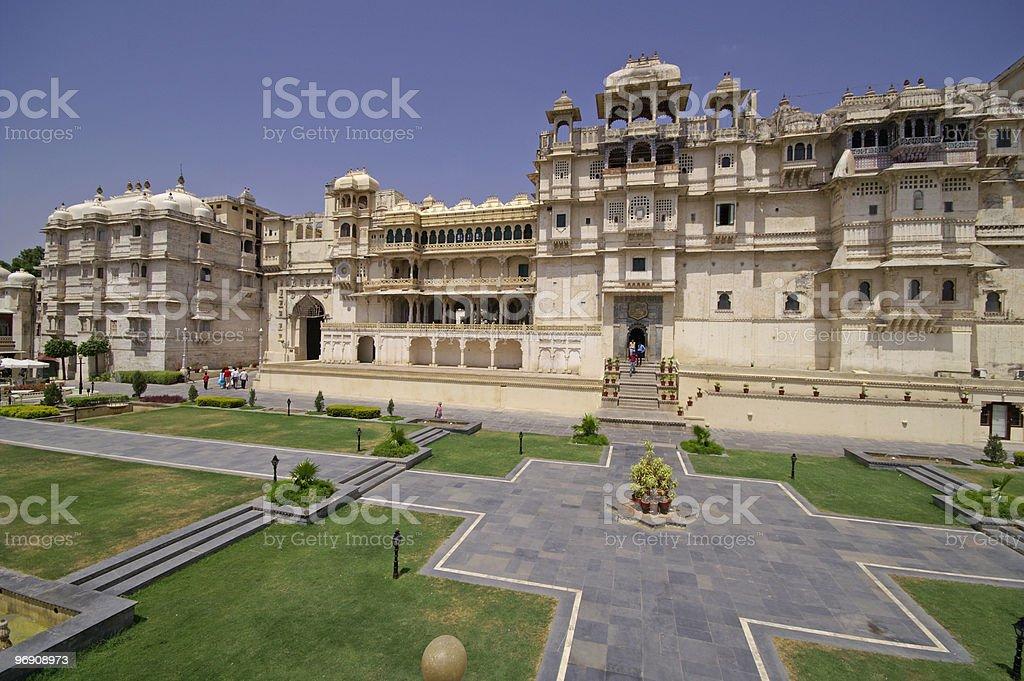 Palace of a Maharajah royalty-free stock photo