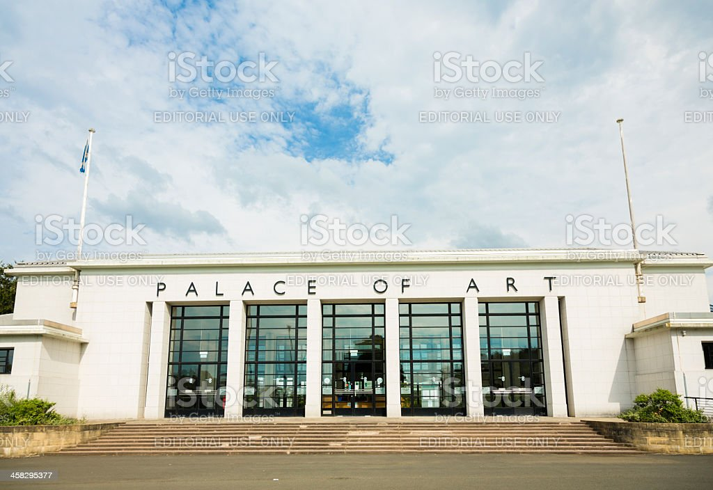 Palace of Art, Glasgow stock photo