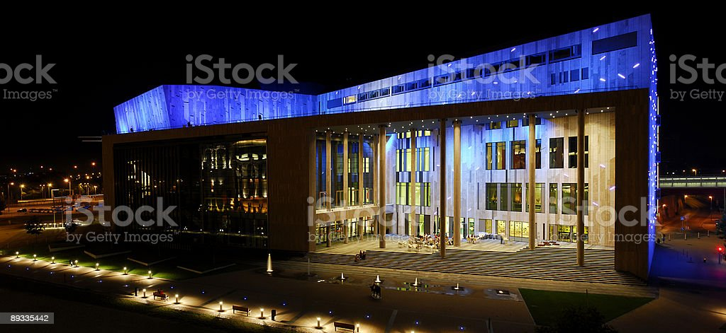 Palace of arts - Buapest stock photo