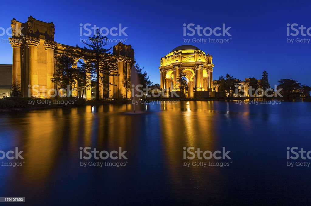 Palace of fine art royalty-free stock photo