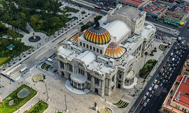 Palace of FIne Arts, Mexico City, Mexico stock photo