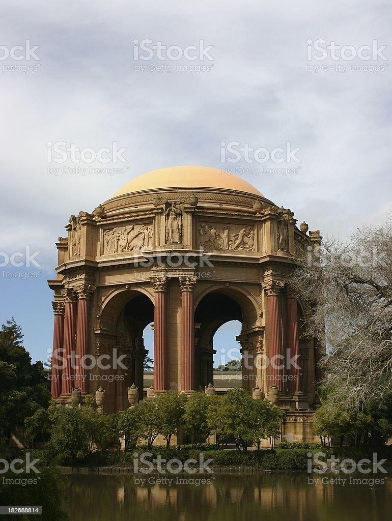 Palace of Fine arts #1 royalty-free stock photo