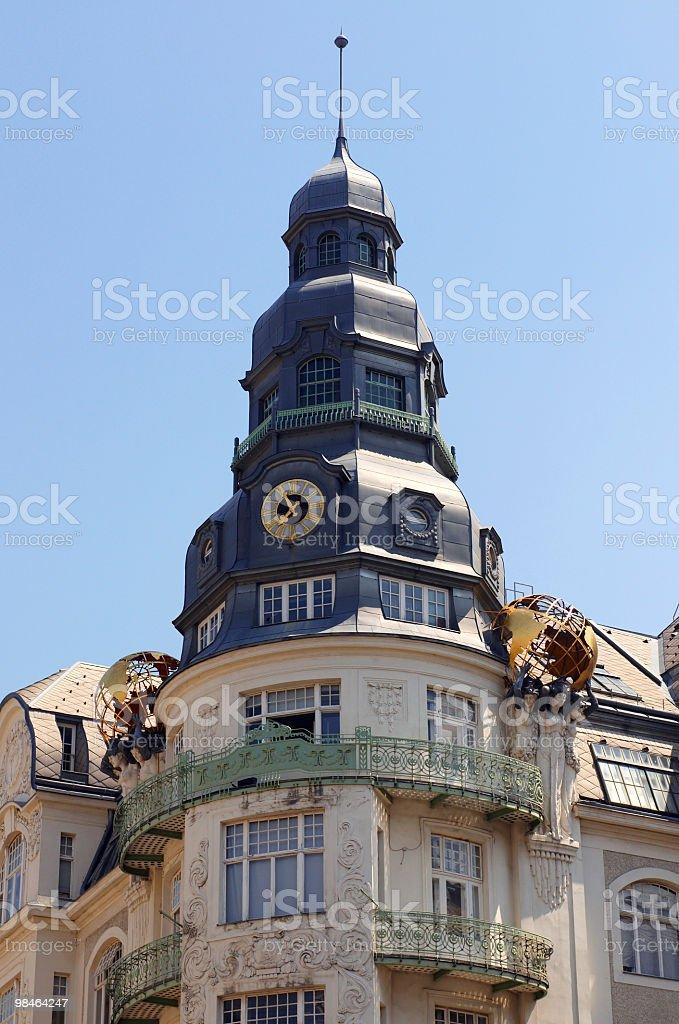 Palace of fine arts. Vienna, Austria. royalty-free stock photo