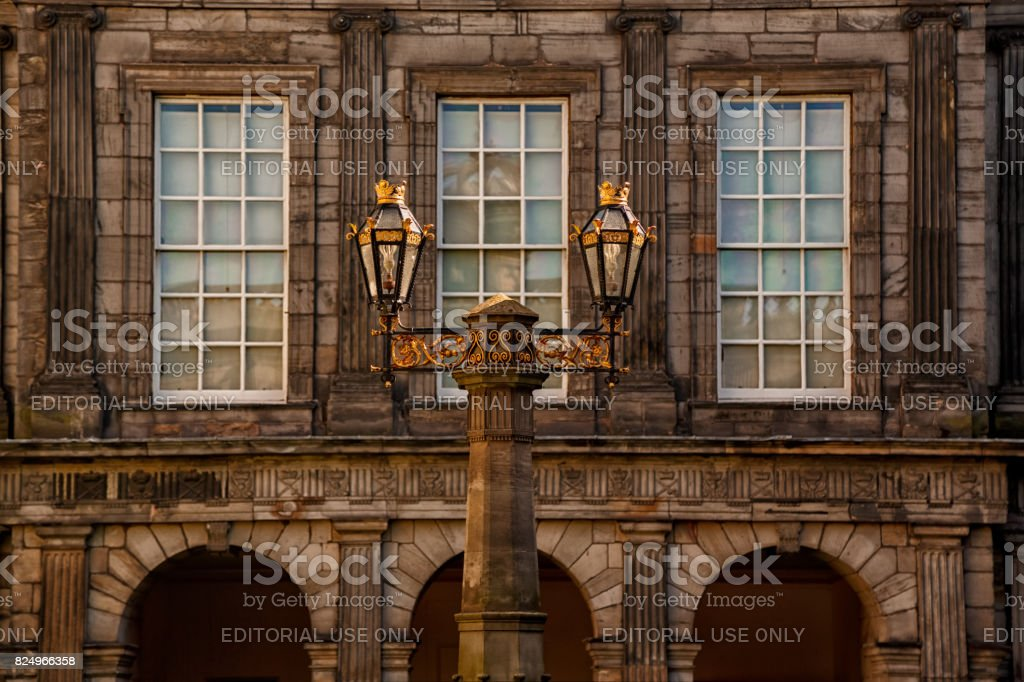 Palace of Holyroodhouse stock photo
