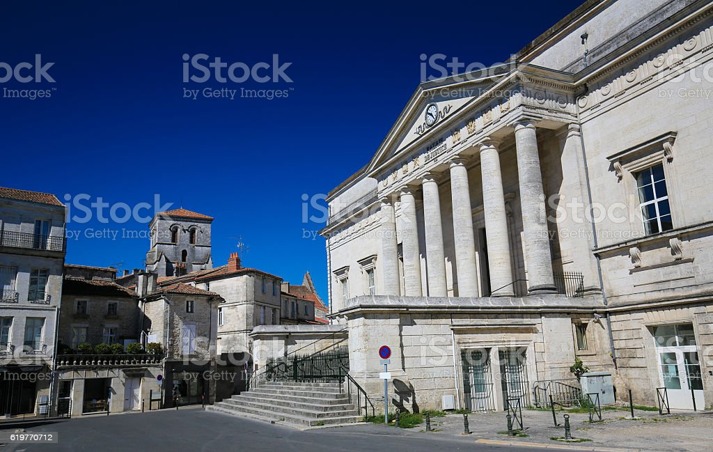 Palace of Justice of Angouleme, France. - Photo