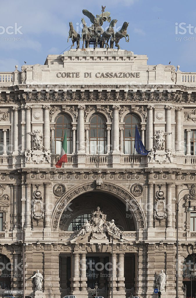 Palace of Justice, Rome, Italy stock photo