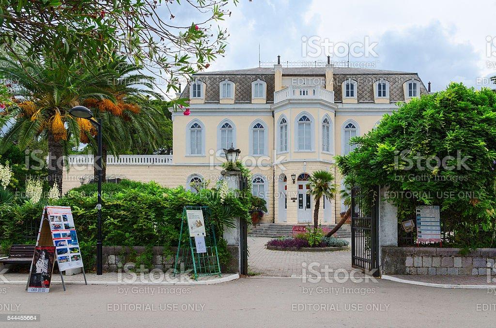 Palacio de Rey Nikola (Topolica Palace) en el Bar, Montenegro - foto de stock