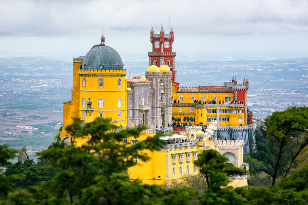 Palace of Pena stock photo