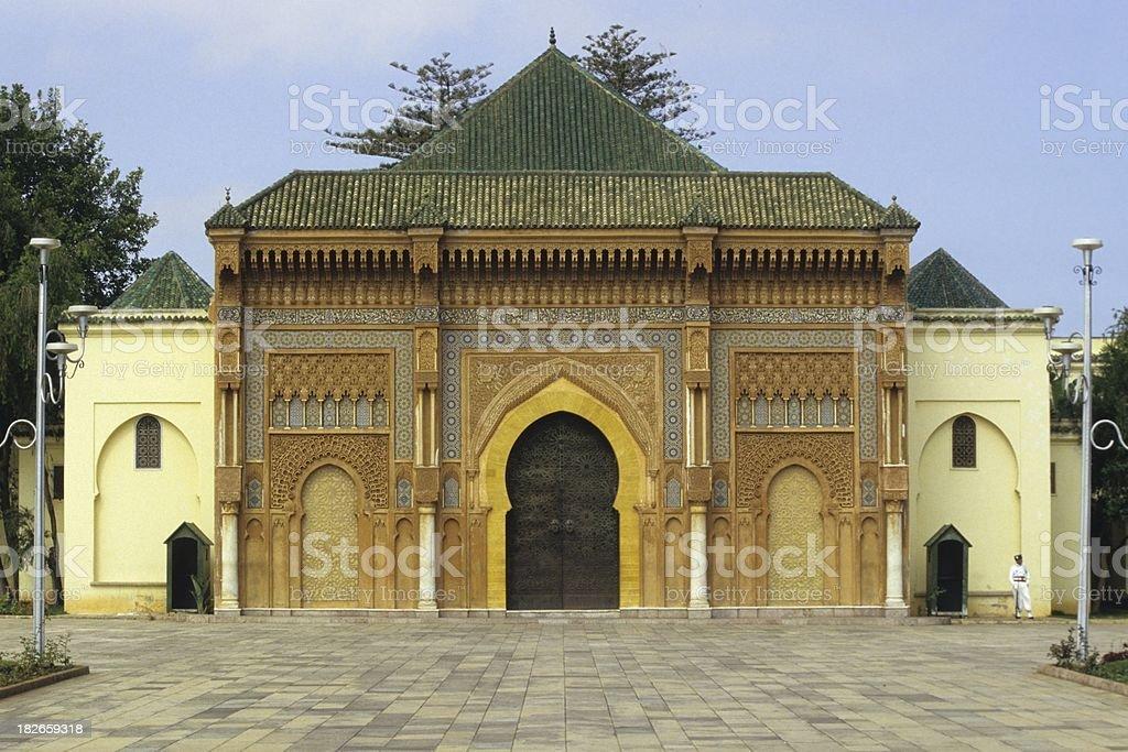 Palace of Rabat, Marocco stock photo