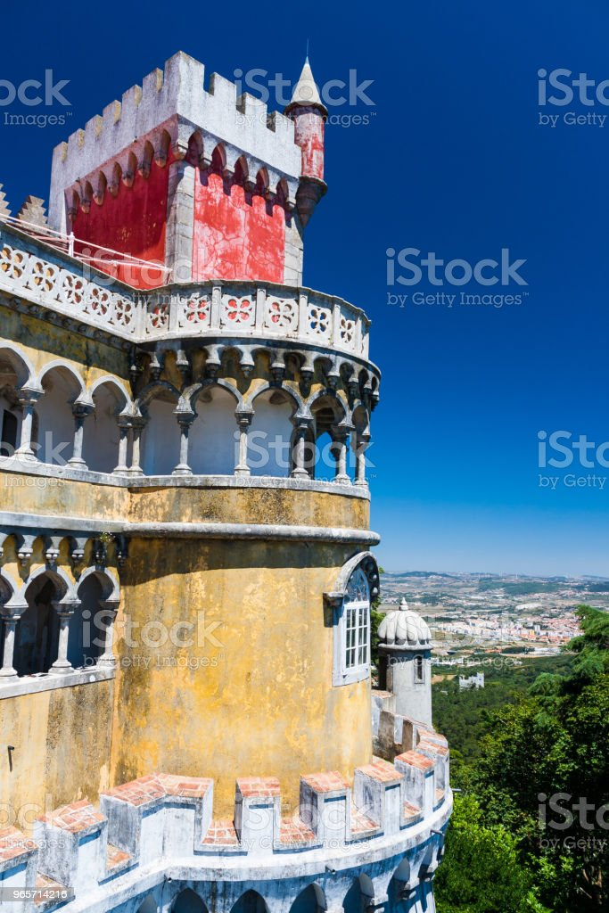 Palace of Sintra in central Portugal - Royalty-free Ancient Stock Photo