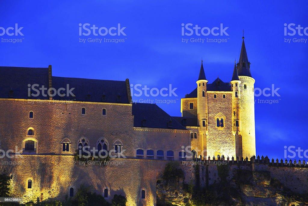 Palace of Spanish kings Alkasar royalty-free stock photo