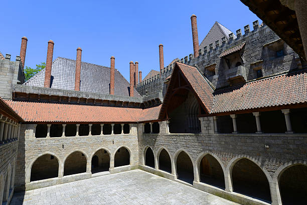 Palace of the Dukes of Braganza, Guimarães stock photo