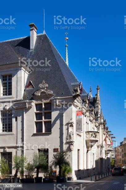 Palace Of The Dukes Of Lorraine In Nancy Stock Photo - Download Image Now