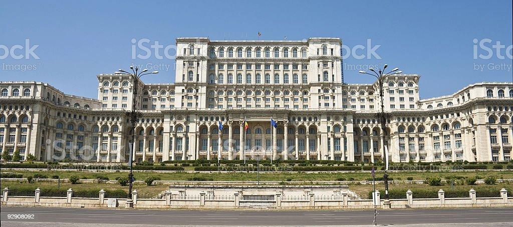Palazzo del parlamento bucarest romania fotografie stock for Immagini del parlamento