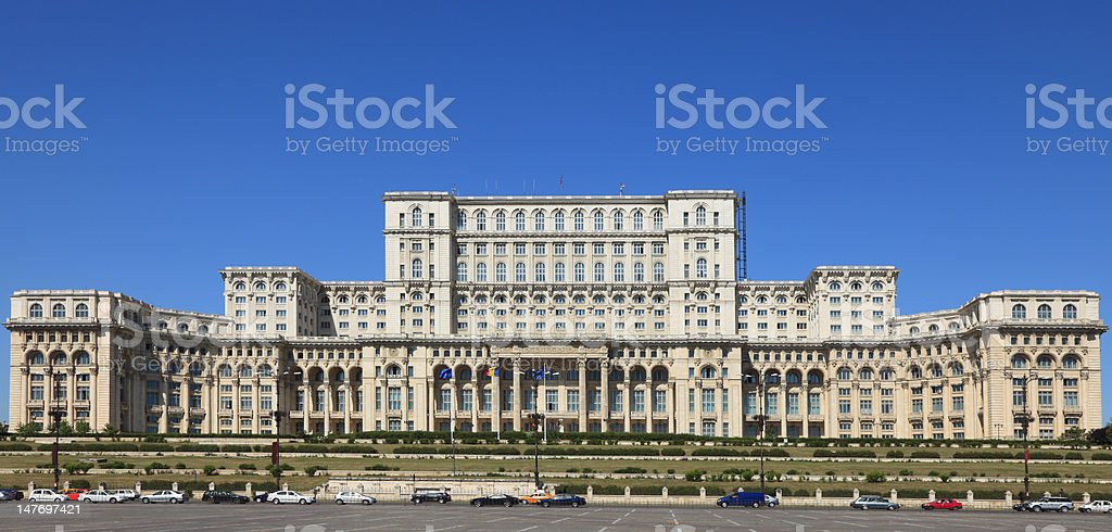 Palace of the Parliament ,Bucharest,Romania royalty-free stock photo