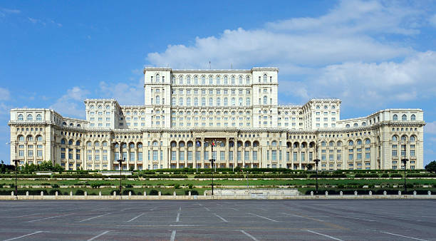 Palace of the Parliament stock photo