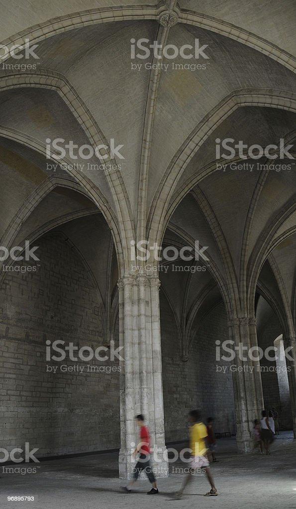 Palazzo dei Papi royalty-free stock photo