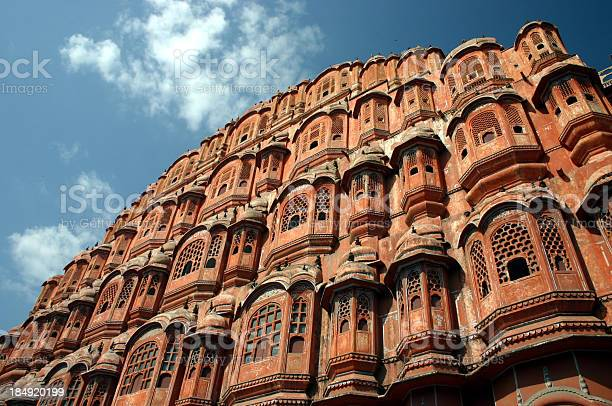 Palace Of The Winds Jaipur 2 Stock Photo - Download Image Now