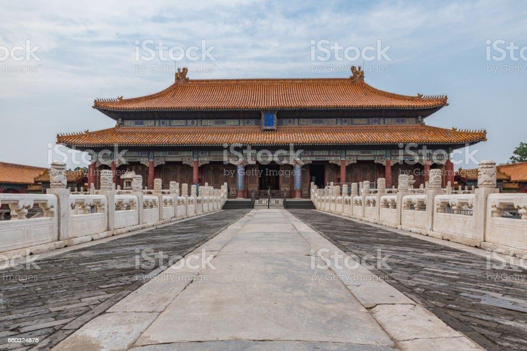 Palace Of Tranquil Longevity Forbidden City Beijing China Royalty Free Stock Photo