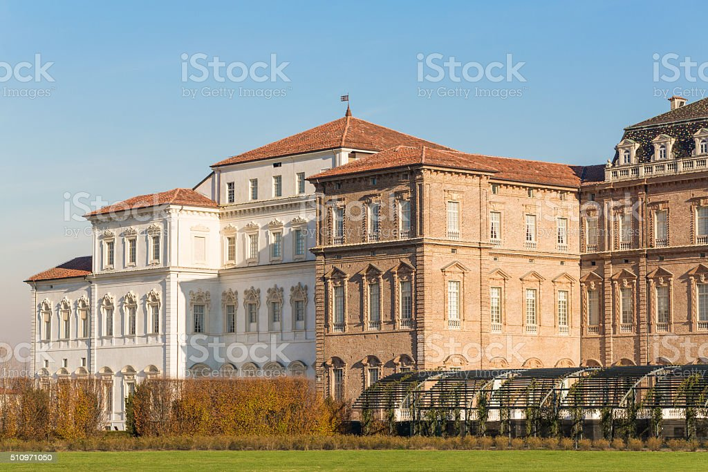 Palace of Venaria - The Royal House of Savoy stock photo