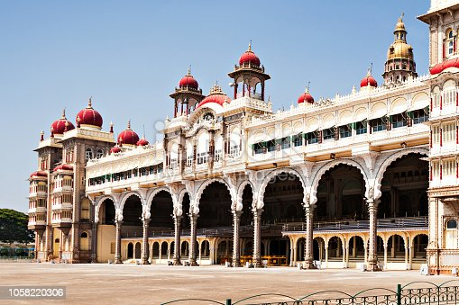 Amba Vilas Mysore Palace in Mysore, India