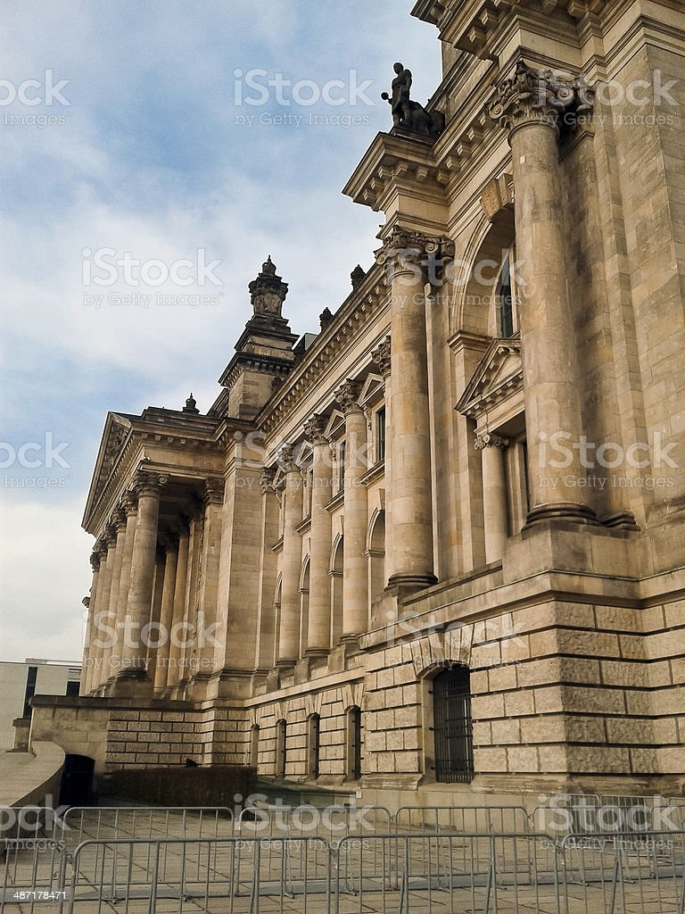 Palace Reichstag, Berlin. stock photo