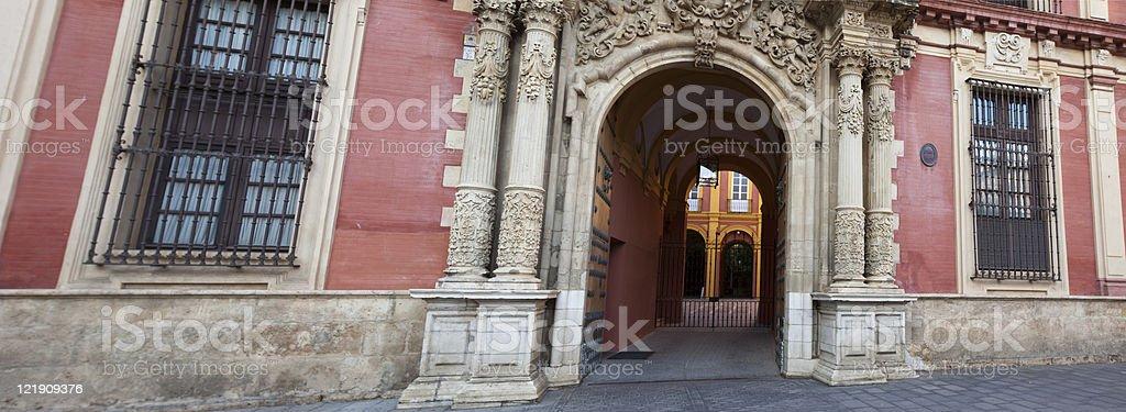 Palace, Seville royalty-free stock photo