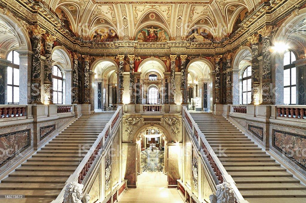 Palacio de escalera - foto de stock