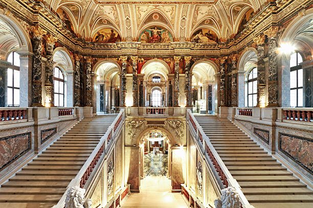 palace staircase - baroque stock photos and pictures