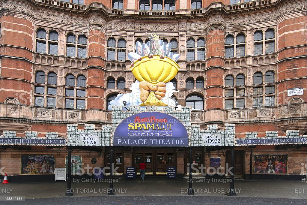 Palace Theater in London royalty-free stock photo