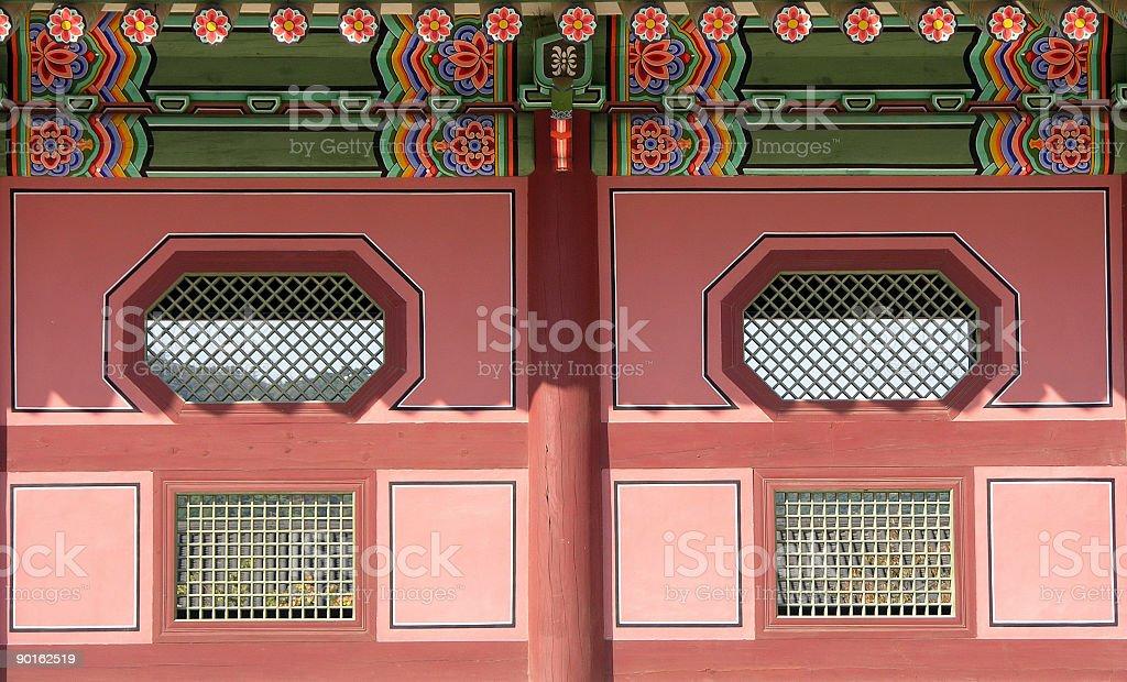 Palace Wall royalty-free stock photo