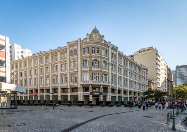 palacio avenida (avenida palace) - curitiba, parana, brazil - curitiba stock photos and pictures