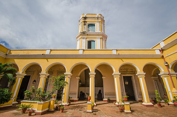 Palacio Cantero in Trinidad, Cuba stock photo