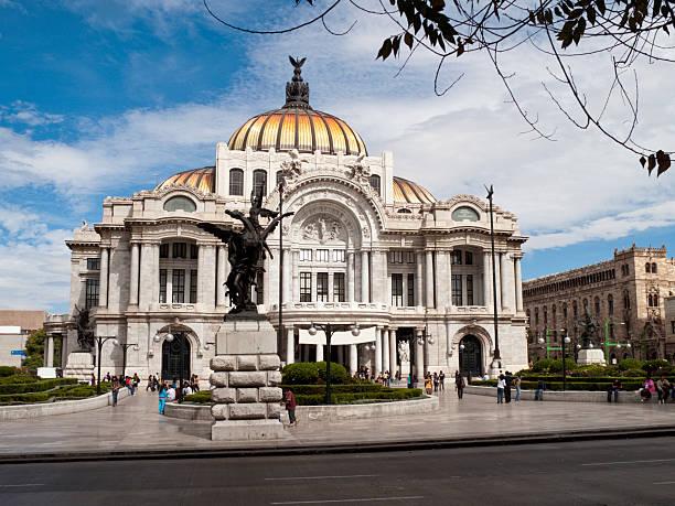 Palacio de Bellas Artes in Mexico City  fine art statue stock pictures, royalty-free photos & images