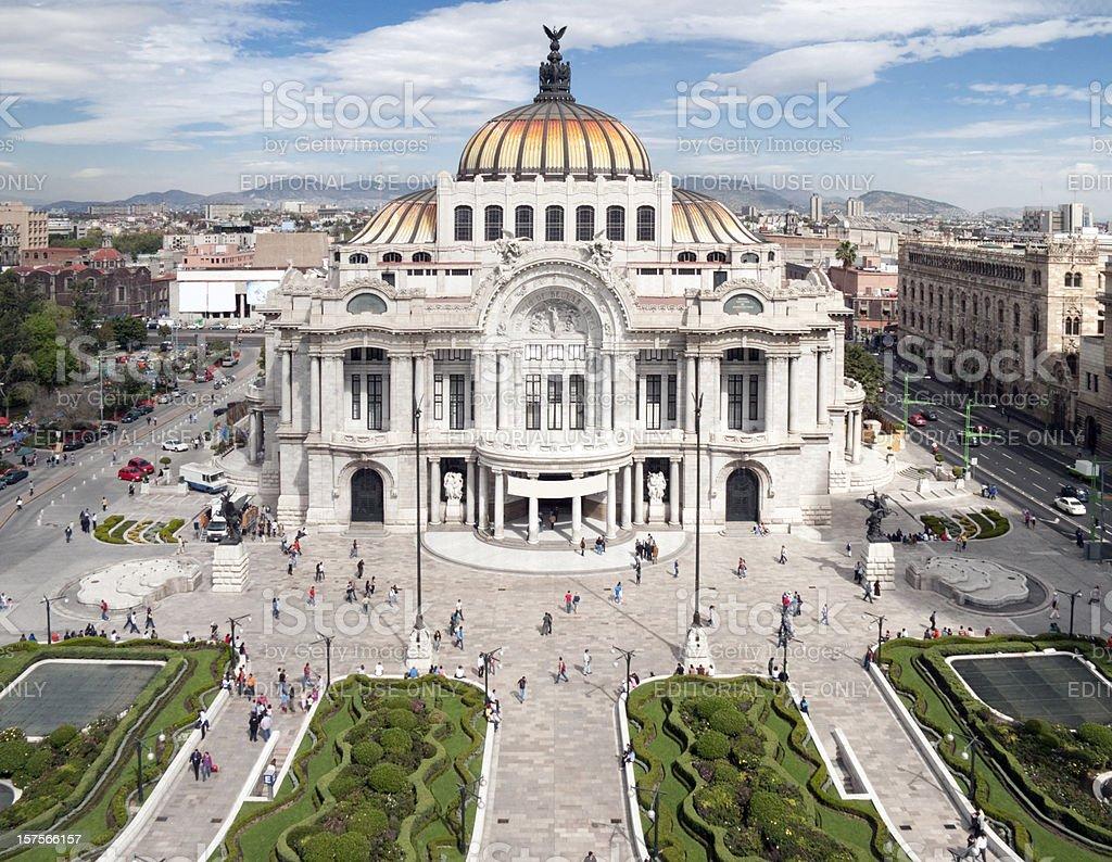 Palacio de Bellas Artes, Mexico City stock photo