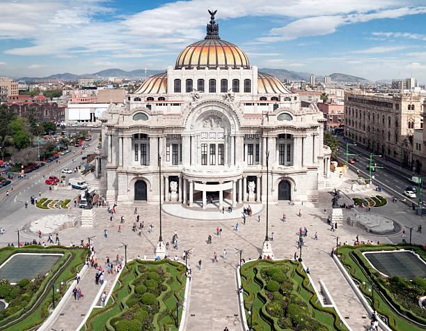 Palacio de Bellas Artes, Mexico City  fine art statue stock pictures, royalty-free photos & images