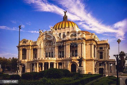 istock Palacio de Bellas Artes, Palace of Fine Arts, Mexico City 1309514387