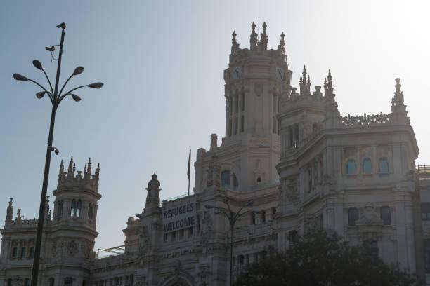 Palacio De Cibeles In Madrid Spain Stock Photo Download